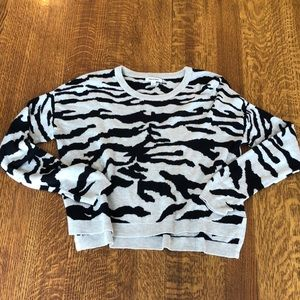BackDrop Animal Print Sweater